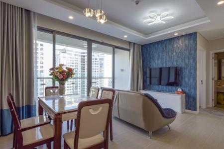 Cho thuê căn hộ Diamond Island 2PN 2WC, đầy đủ nội thất, view nội khu