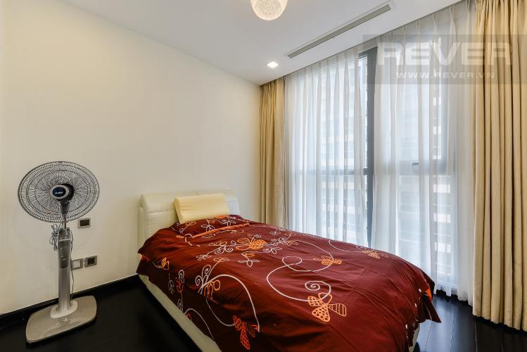 Phòng ngủ 2 Căn hộ Vinhomes Central Park 3 phòng ngủ tầng cao P3 full nội thất