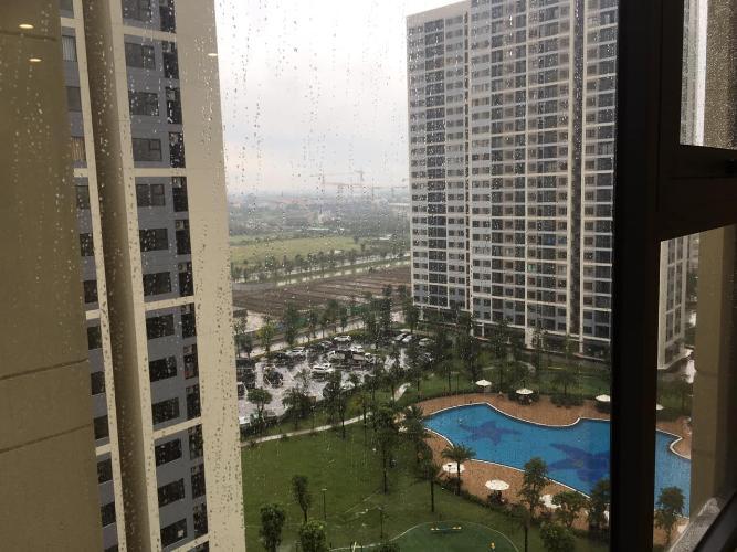 View căn hộ Vinhomes Grand Park Căn hộ Studio Vinhomes Grand Park tầng 24 ban công Đông Bắc