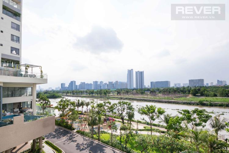 View Bán hoặc cho thuê căn hộ office-tel Diamond Island - Đảo Kim Cương 3PN, tầng thấp, diện tích 117m2, view sông lý tưởng