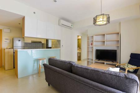 Cho thuê căn hộ Masteri Thảo Điền 2PN, tầng cao, tháp T4, đầy đủ nội thất, view Xa lộ Hà Nội