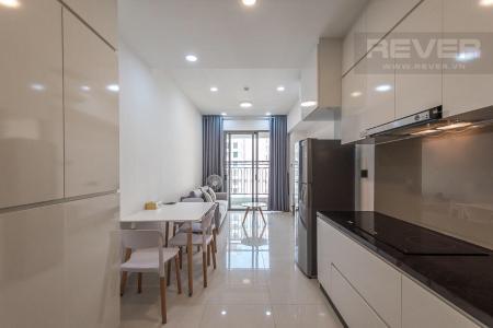 Cho thuê căn hộ Saigon Royal 1PN và 1 phòng đa năng, đầy đủ nội thất, ban công Đông Nam