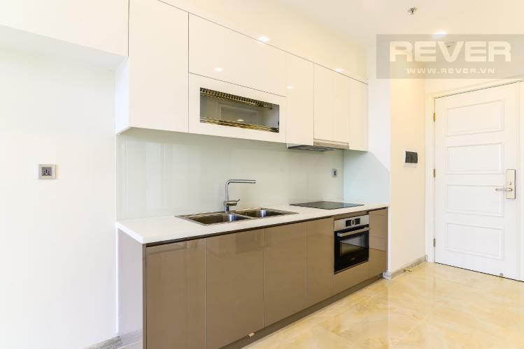 Nhà Bếp Officetel Vinhomes Golden River 1 phòng ngủ tầng thấp A2 view sông
