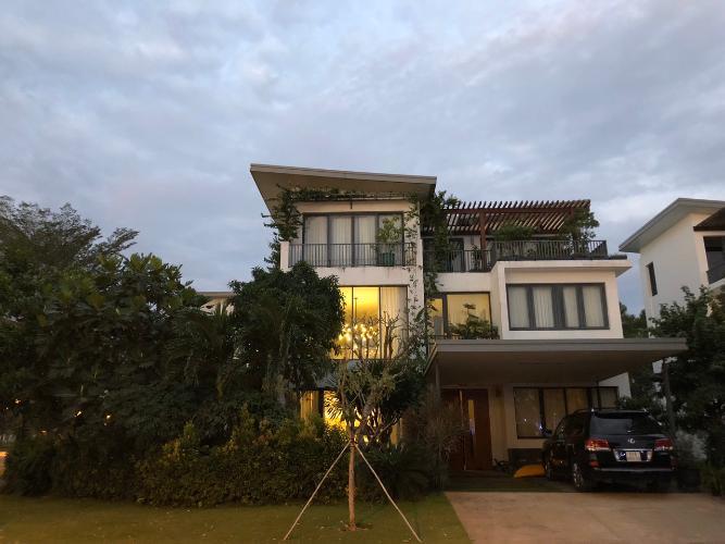 Bán biệt thự đảo Đại Phước - Nhơn Trạch, diện tích đất 500m2, hoàn thiện đầy đủ nội thất
