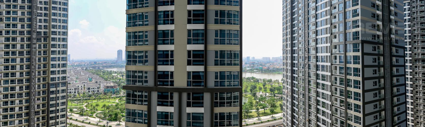 View Căn hộ Vinhomes Central Park tầng trung Park 6 view sông, nhiều tiện ích