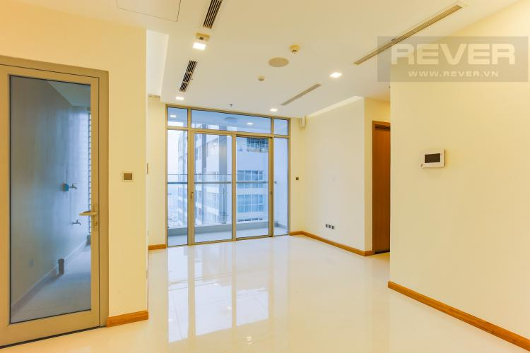 Phòng Khách Căn hộ Vinhomes Central Park tầng cao Park 6 mới bàn giao, chưa ở