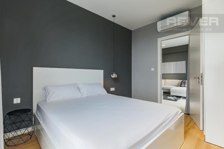 Phòng Ngủ 2 Căn hộ Masteri Millennium tầng cao view sông, 2PN đầy đủ nội thất