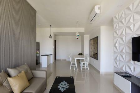Cho thuê căn hộ The Sun Avenue 3 phòng ngủ tầng trung, đầy đủ nội thất, yên tĩnh