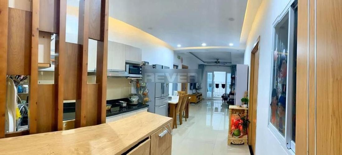 Phòng bếp Saigonres Plaza, Bình Thạnh Căn hộ Saigonres Plaza hướng Tây Bắc, nội thất cao cấp.
