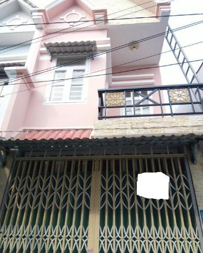 Bên ngoài căn nhà phố Nhà Bè Nhà hẻm 4m huyện Nhà Bè hướng Nam, diện tích sử dụng 151.6m2.