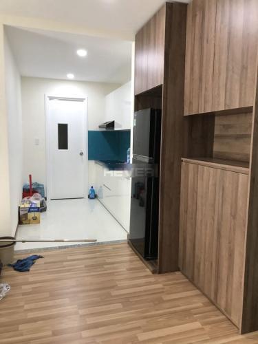 Phòng khách căn hộ Diamond Riverside, Quận 8 Căn hộ chung cư Diamond Riverside nội thất đầy đủ, view nội khu.
