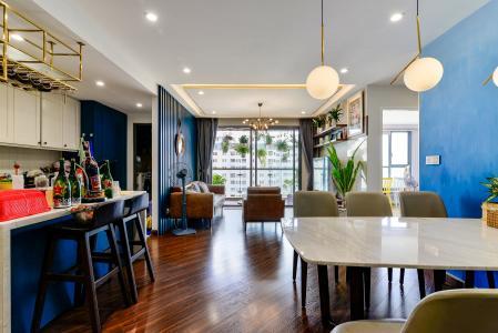 Bán căn hộ The Gold View 3PN, tầng thấp, diện tích 117m2, đầy đủ nội thất