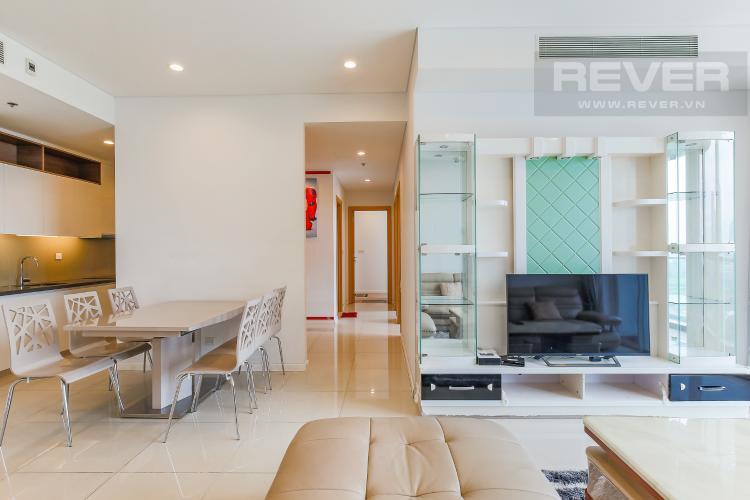 Phòng Khách Cho thuê căn hộ Sarimi Sala Đại Quang Minh 3 phòng ngủ, đầy đủ nội thất, view Landmark 81