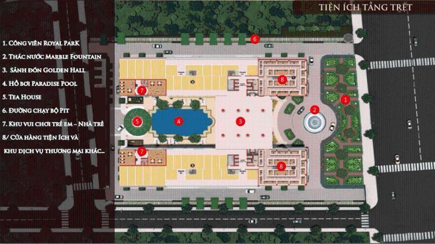 Tiện ích Dream Home Palace Quận 8 Căn hộ Dream Home Palace nội thất cơ bản, bàn giao cuối 2020.