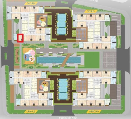 layout tổng quan Q7 Saigon Riverside Căn hộ Q7 Saigon Riverside ban công hướng Nam, nội thất cơ bản
