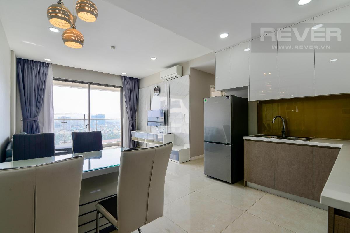 181c15bd0dcdeb93b2dc Cho thuê căn hộ Masteri Millennium 2PN, block A, diện tích 65m2, đầy đủ nội thất, view hồ bơi mát mẻ