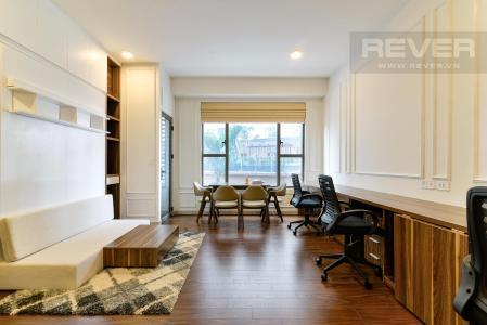 Cho thuê căn hộ officetel The Tresor 1PN, tháp TS1, diện tích 40m2, đầy đủ nội thất thông minh