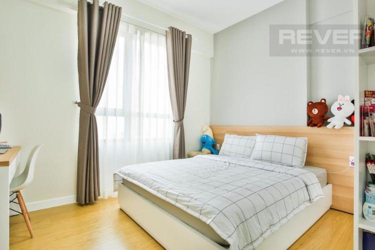 Không gian phòng ngủ chính Căn hộ T4B Masteri Thảo Điền trung tầng hướng Tây
