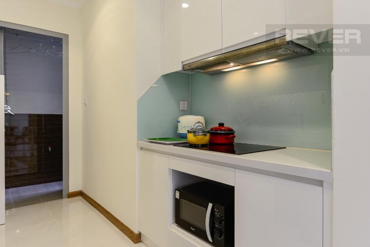 bếp Căn hộ Vinhomes Central Park tầng trung L3 vừa hoàn thiện, full nội thất