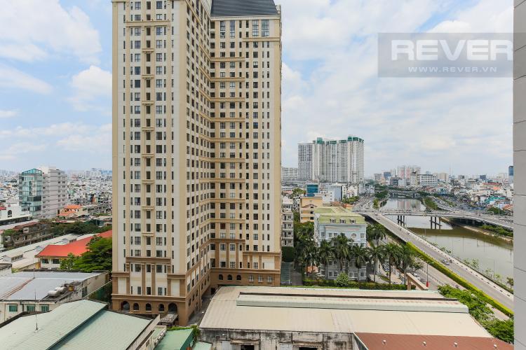 View Căn hộ The Tresor 2 phòng ngủ tầng trung TS1 view nội khu