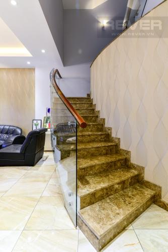 Cần Thang Cho thuê biệt thự Khu dân cư An Phú, hướng Đông Nam, thiết kế sang trọng, đầy đủ nội thất
