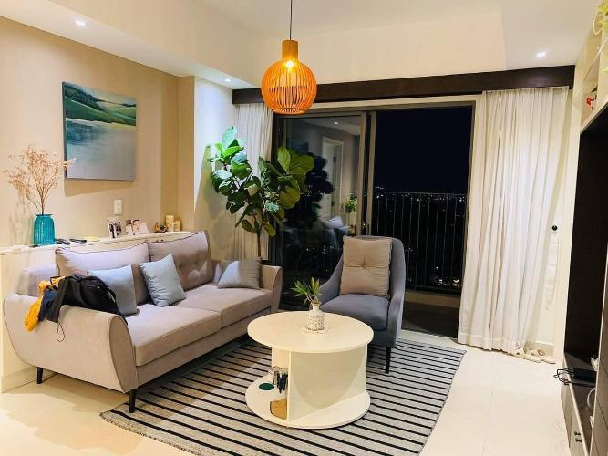 Phòng khách Masteri Thảo Điền Quận 2 Căn hộ Masteri Thảo Điền tầng cao, view sông và biệt thự.