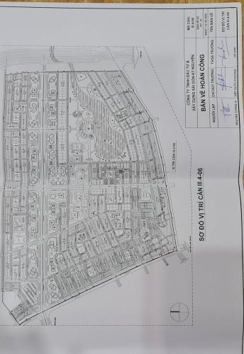 Mặt bằng Biệt thự Khu đô thị Đông Tăng Long quận 9 Biệt thự Đông Tăng Long Quận 9 diện tích đất 20m x20m