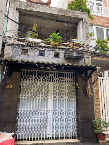 Bán nhà phố hẻm đường Lý Thái Tổ, phường 1, quận 3, diện tích đất 43.8m2, không có nội thất.