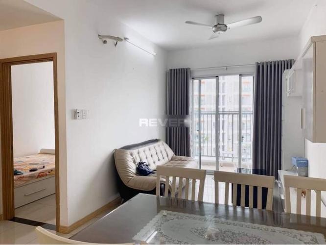 Phòng khách căn hộ Jamona City, Quận 7 Căn hộ chung cư Jamona City tầng cao, view nội khu mát mẻ quanh năm.