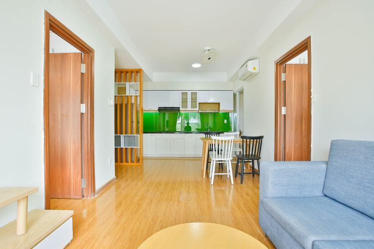 Căn hộ Flora Anh Đào 2 phòng ngủ tầng thấp nội thất đầy đủ