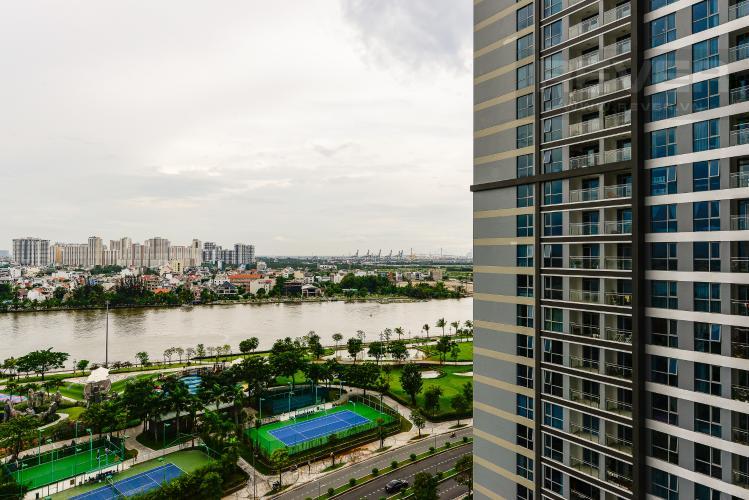 View Bán căn hộ Vinhomes Central Park tầng trung 3PN đầy đủ nội thất view sông