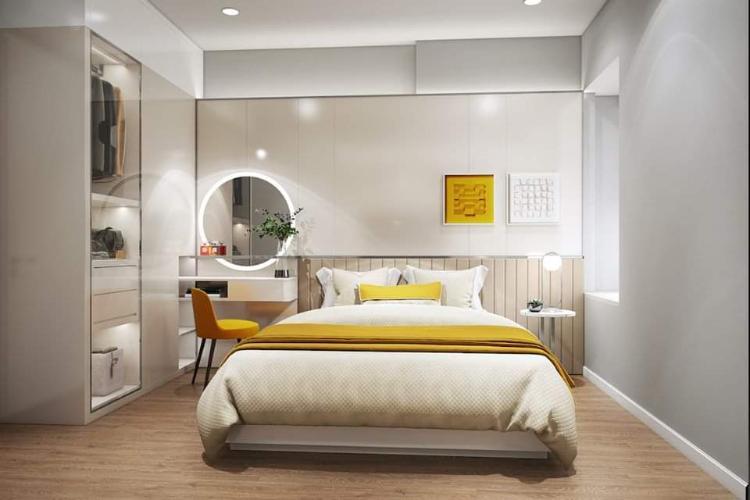 Bán căn hộ 1 phòng ngủ Ricca Quận 9, tầng 5, diện tích 56m2, chưa bàn giao