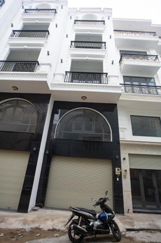 Nhà phố hướng Đông Nam, diện tích 43.3m2, thiết kế hiện đại.