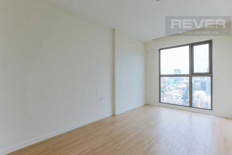 Phòng Ngủ 1 Căn hộ Masteri Millennium tầng trung, block A, 2 phòng ngủ, view sông