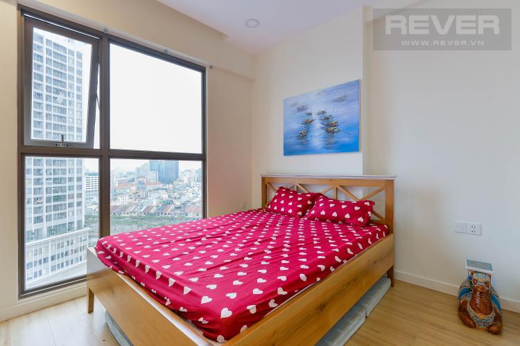 Phòng Ngủ Căn hộ Masteri Millennium tầng cao, 1PN, đầy đủ nội thất, view đẹp