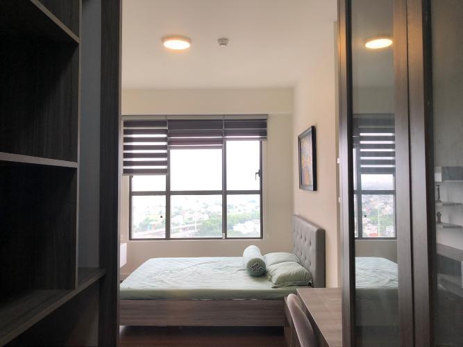 Phòng ngủ căn hộ The Sun Avenue Căn hộ The Sun Avenue tầng cao, view thành phố sầm uất.