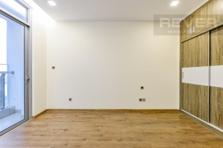 Phòng ngủ 1 Căn hộ Vinhomes Central Park 2 phòng ngủ tầng cao P3 view sông