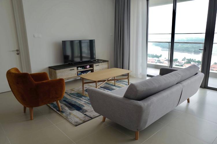 Căn hộ tầng cao Gateway Thảo Điền đầy đủ nội thất, view thành phố.