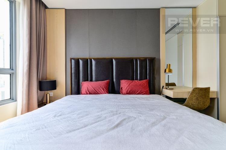 Phòng Ngủ 2 Cho thuê căn hộ Diamond Island - Đảo Kim Cương 3PN, tầng cao, đầy đủ nội thất, view sông yên tĩnh