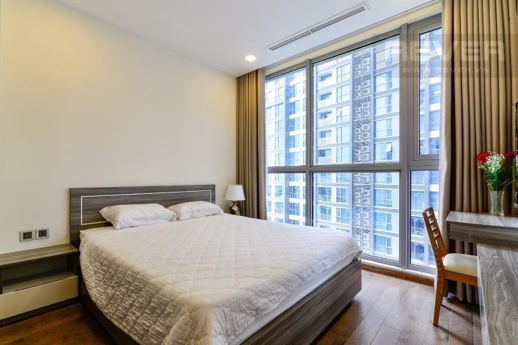 Phòng Ngủ 1 Cho thuê căn hộ Vinhomes Central Park 2PN, tầng thấp, tháp Park 5, đầy đủ nội thất