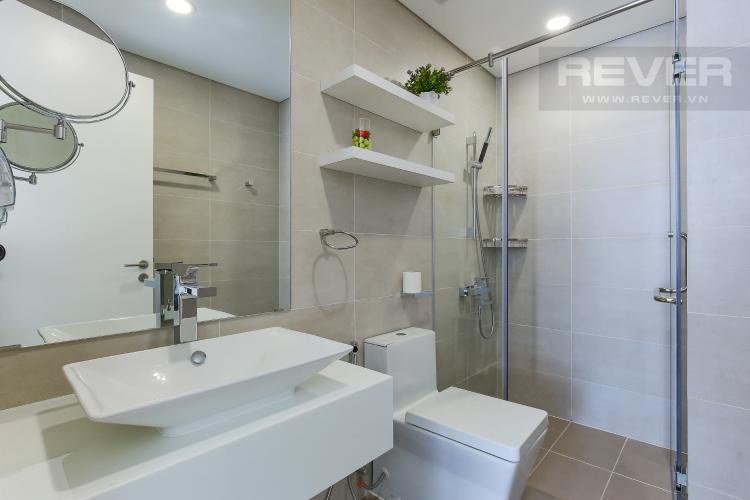 Phòng Tắm 1 Cho thuê căn hộ Masteri Millennium tầng cao, 2PN, đầy đủ nội thất