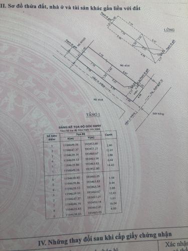 Thông tin nhà phố Bình Tân Nhà phố hướng Đông Nam diện tích đất 64m2, gần Aeon Mall.