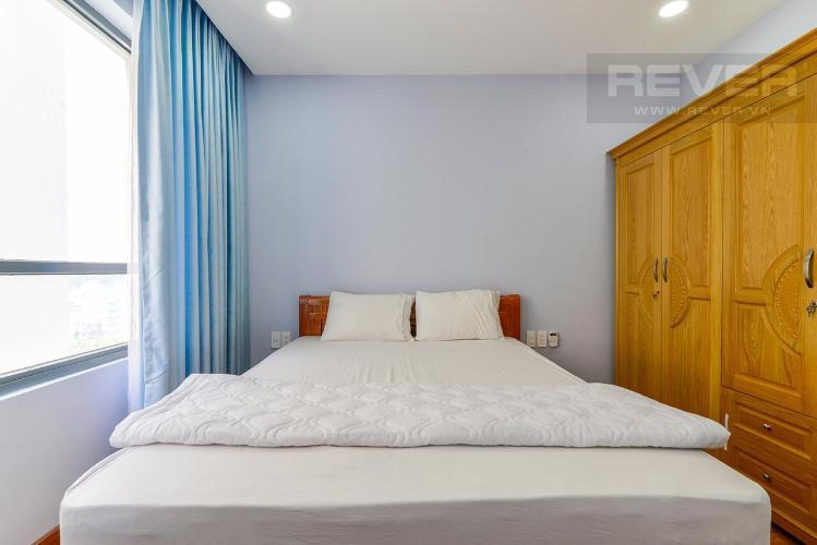 Phòng ngủ căn hộ The Gold View Cho thuê căn hộ The Gold View 2 phòng ngủ tầng thấp, diện tích 81m2 - 2 phòng ngủ