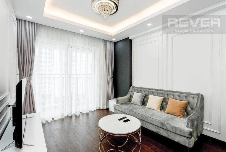 Phòng Khách Bán căn hộ Sunrise Riverside 3PN, tầng thấp, diện tích 83m2, đầy đủ nội thất
