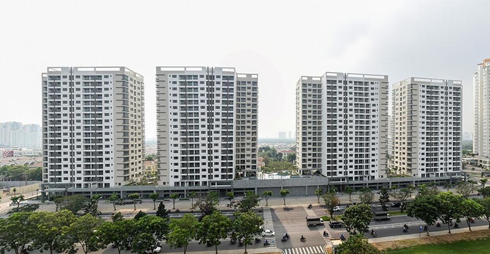 Chung cư Hưng Phúc Premier, Quận 7 Căn hộ tầng 12 chung cư Hưng Phúc Premier view thành phố thoáng mát.
