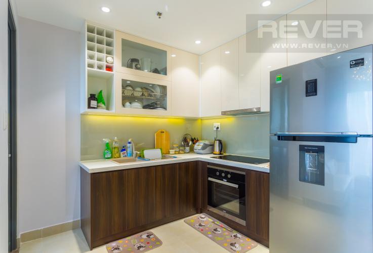 Khu Vực Bếp Bán căn hộ Masteri Thảo Điền tầng cao, 2PN, đầy đủ nội thất, view đẹp