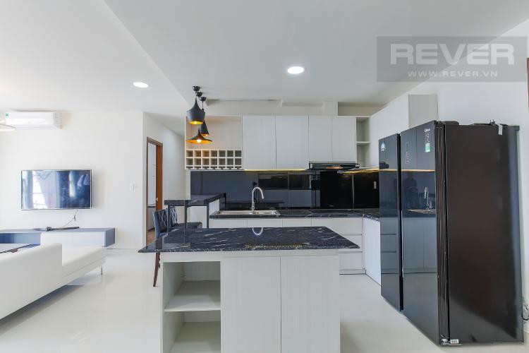 Phòng Bếp Bán hoặc cho thuê căn hộ Grand Riverside 3PN và 2WC, đầy đủ nội thất, view thành phố