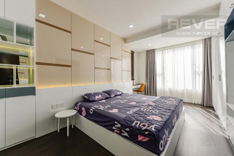 Phòng ngủ 1 Căn hộ The Tresor tầng trung, 3 phòng ngủ, hướng Tây Bắc, view sông