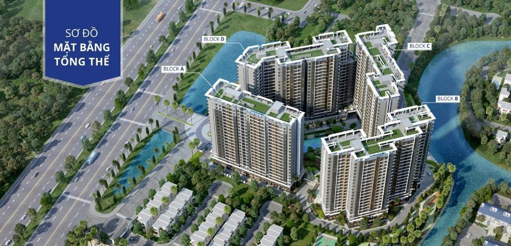 Bán căn hộ Safira Khang Điền 2 phòng ngủ, tầng trung, diện tích 60m2, hướng Nam
