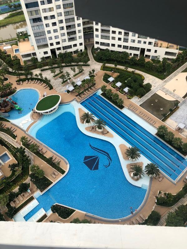 7f2f3767bfe259bc00f3 Bán căn hộ Diamond Island - Đảo Kim Cương 2PN, diện tích 82m2, đầy đủ nội thất, view hồ bơi